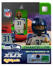 Kam Chancellor OYO NFL 2015 NFC CHAMPS SUPER BOWL XLIX 49 SEATTLE SEAHAWKS NEW