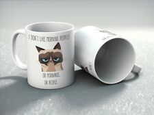 Morning People Novelty Gift Mug Funny Grumpy Cup For Your Morning Coffee Xmas