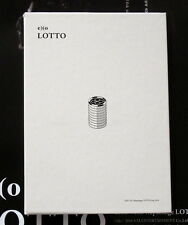 EXO autographed signed 2016 3nd follow-up album  LOTTO CD Korean version