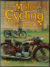 Motor Cycling in the 1930s BSA Triumph Ariel +  inc. racing, speedway, trials +