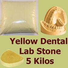 5 kilo, Extra Hard #3 Dental LabStone, Yellow Casting Moulding Stone Plaster