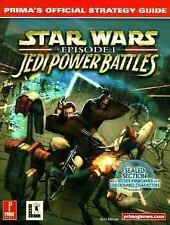 Star Wars: Episode 1 Jedi Power Battles : Prima's Official Strategy Gu-ExLibrary