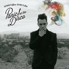 Panic! At The Disco - Too Weird To Live Too Rare To Die - CD ** NEW **