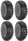 Four 4 Carlisle AT489 ATV Tires Set 2 Front 25x8-12 & 2 Rear 25x10-12 489 A/T