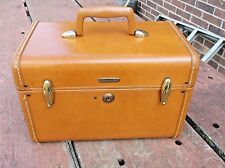 VINTAGE BROWN SAMSONITE OVER NIGHT TRAIN CASE 4612 SHWAYDER BROS DENVER ESTATE