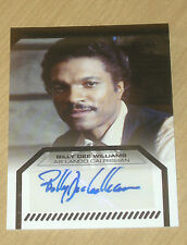 2013 Topps Star Wars Galactic Files ser 2 autograph Billy Dee Williams as Lando