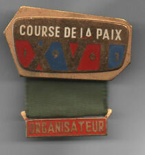 Orig.part.pin   XVI.Course de la Paix / Peace Race 1963  -  ORGANIZER  !! RARITY