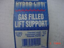 Hydro Lift Gas Filled Lift Support  Extended to 10 inch  P/N 01900