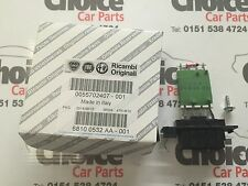 Genuine Fiat Grande Punto Heater Blower Motor Fan Resistor 13248240 BNIB