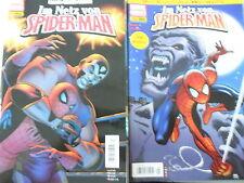 7 x Comic -Im Netz von Spider-Man - Marvel Panini - Z.1-2/2