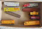 Lot of 9 Vintage HO Scale Car Shells Partial Cars Loco Shell