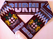 Burnley Clarets Football Scarves New from Superior Acrylic Yarns