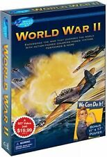 Dover Discovery Kit WORLD WAR II Coloring Stickers Postcards Poster Fine 2009