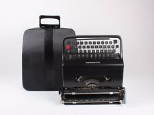 BLACK OLIVETTI 32 WITH REFURBISHED CASE - Black Friday typewriter sale