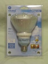 GE Reveal Flood Light 26W - 90 Watt Equivalent Compact Flourescent Style NEW