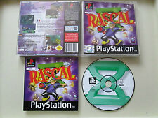 Rascal - For Sony Playstation 1 / PS1 Complete PAL Tested - Kids Adventure!