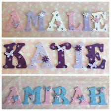 Custom Wooden Letter Children Bedroom Nursery Wall Door Art Decor Present Gift