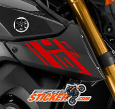 Yamaha FZ-09 Stickers / Decals Air intake Scoop LEFT + RIGHT (RED) fz09