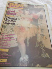 TONI BASIL - RAM -OZ MUSIC MAG -1982 - PETE TOWNSHEND - LAUGHING CLOWNS - FB3
