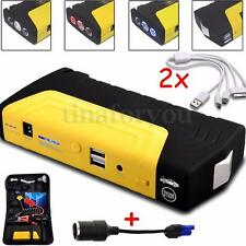 Car Jump Starter Booster Pack Emergency Charger Battery Power Bank SOS