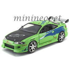 JADA  97603 2001 FAST AND THE FURIOUS 1995 MITSUBISHI ECLIPSE 1/24 DIECASTGREEN