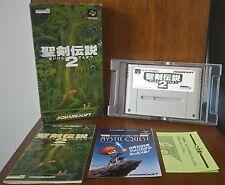 SEIKEN DENSETSU 2 Secret of Mana 2 Nintendo SUPER FAMICOM SFC JAPANESE NTSC-J