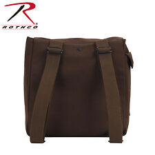 2272 Rothco Heavyweight Canvas Musette Bag - Earth Brown