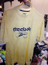 REEBOK T SHIRT IN SMALL OR LARGE AT £7 ORIGINAL IN YELLOW BNWL