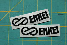 (2x) Enkei Wheel Stickers Replacement Decal Rim RPF1 PF01 GTC01 - SET OF 2!