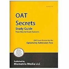 OAT Secrets Study Guide: OAT Exam Review for the Optometry Admission Test, OAT E