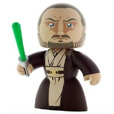 Star Wars Mighty Muggs Qui-gon Jinn Figure by Hasbro Damaged Packaging
