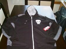 NEW MENS THE PUNISHER ZIP UP HOODIE SIZE L 42-44 MOVIE COMIC BOOK SKULL JACKET