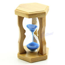Cute 1 Minute Frame Sand Glass Sandglass Hourglass Timer Clock Time Decor Gift