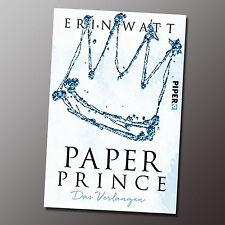 Paper Prince: Das Verlangen (Paper-Trilogie, Band 2) ab 03.04.17 lieferbar