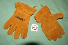 FIREMAN I  Firefighter Gloves USA (size xx-Large) new