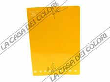 PIGNA - MONOCROMO - GIALLO - QUADERNO 12x17cm - 1 PEZZO - RIGO 1R (RIGA 10 mm)
