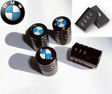 BMW Deluxe Black Chrome Wheel Valve Dust Caps. M3 M5 X3 X5 330 325 Z3 Z4