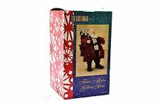Traditions Fabric Mache Golfing Santa Claus Figurine