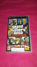 GRAND THEFT AUTO CHINATOWN WARS SONY PSP NEUF VERSION FRANCAISE