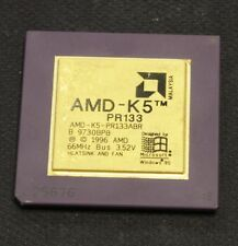 Vintage CPU Processor - AMD K5 PR133 - TESTED