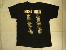 Jason Aldean Night Train Concert Tour Country Music Singer Soft Black T Shirt M