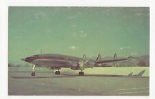 Iberia Lockheed L-1049G Super Constellation Aviation Postcard, A678