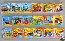 Hong Kong 2006 Attractions of 18 Districts in HK Stamps