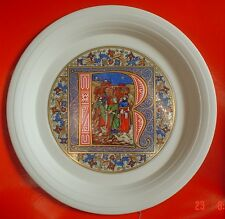 Hornsea Limited Edition Christmas Plate 1981 BOXED