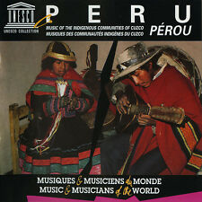 Various Artists - Peru-Music of the Indigenous Communities of [New CD]