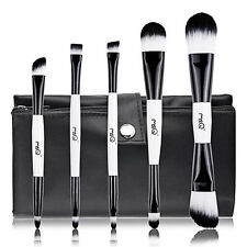 5in1 MSQ Top Grade Travel Essentials Cosmetic makeup brushes Double-end Brush