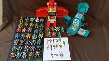 Huge Vintage Hasbro Battle Beasts Collection figures,weapons, playsets