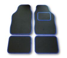 FORD FUSION UNIVERSAL Car Floor Mats Black & BLUE