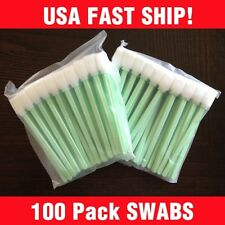 USA 100 pcs LARGE Foam Cleaning swabs - Roland Versacamm, Mimaki Epson surecolor