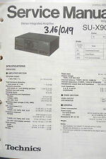 Service-Manual Technics SU-X902 Amplifier,ORIGINAL